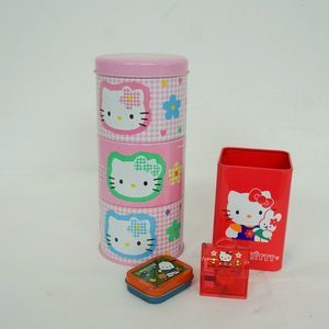 Vintage 90s Hello Kitty Sanrio Pencil Holder